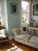 Our Eclectic Boho Art Deco Living Room, Entomology