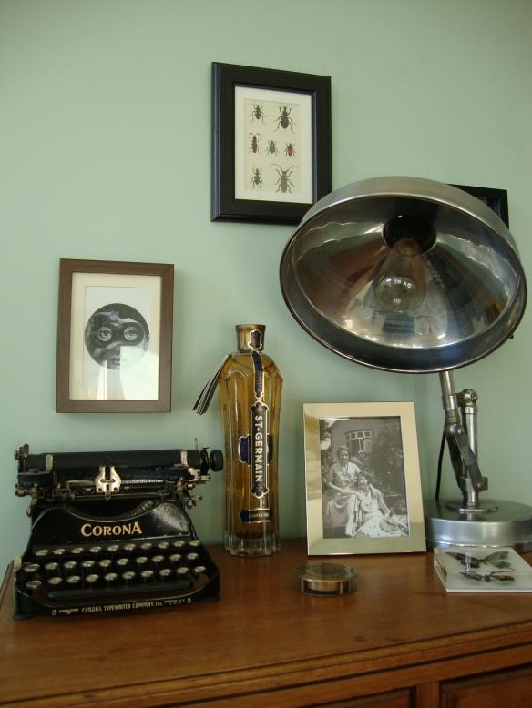 Vintage Eclectic Deco Flea Market Bohemian Living Room