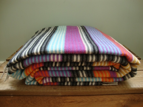 Missoni Blanket - Multicolour Striped