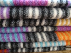 Missoni Stripey Blanket Detail