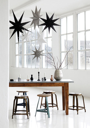 Bodie and Fou Paper Star Christmas Decorations