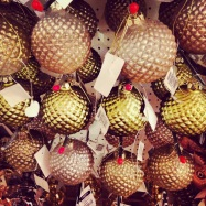 Liberty London Store Christmas Baubles 2013