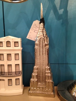 Paint House Northcote Rd Chrysler Building Model Pewter look