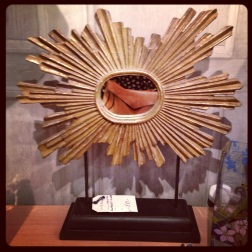 Paint House Northcote Rd Starburst Mirror for Mantlepiece