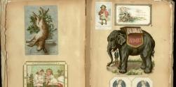Victorian Scrapbook - Birmingham Library Archive