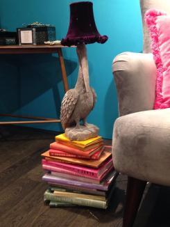 Abigail ahern debenhams pelican lamp 2014