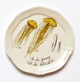 Anthropologie Jellyfish Canopy plate