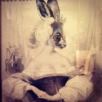 Hare Princess - Kitty Valentine - Victoriana Art of Revival, London Guildhall