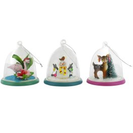 Paperchase Kitsch Snow Globe Decoration