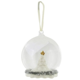 Paperchase Tree Snow Globe Decoration