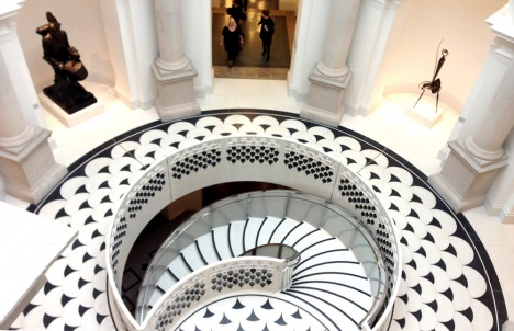rotunda-staircase new tate britain