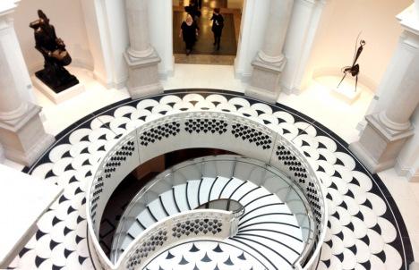 rotunda-staircase new tate britain