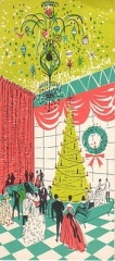 Vintage Xmas Card Fifties