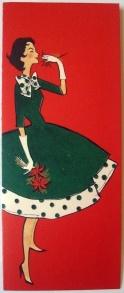 Vintage Xmas Card