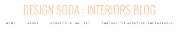 Design Soda Interiors blog